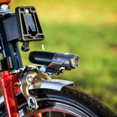 Brompton Cateye VOLT 300 Front light-Folding Accessories-Cateye-Default-Bicycle Junction