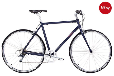 Linus Pronto 8-Bicycles-Linus-L -56cm-Indigo Matte-Bicycle Junction