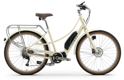 Linus Ember Electric-E-Urban-Linus-Cream-Bicycle Junction