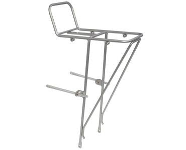 Soma - Lucas 2 mini front rack-Bike Racks-Soma-Silver-Bicycle Junction