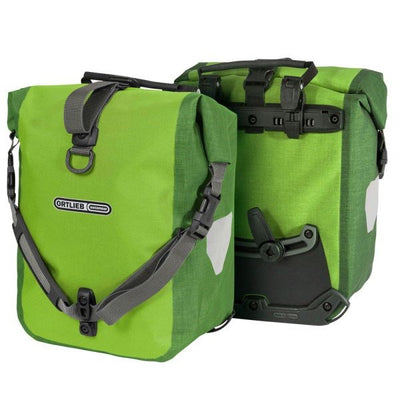 Ortlieb Sport Roller Plus-Bags-Ortlieb-Lime-Moss Green-Pair-25L-Bicycle Junction