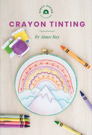 Doodle Stitching and Crayon Tinting with Author Aimee Ray