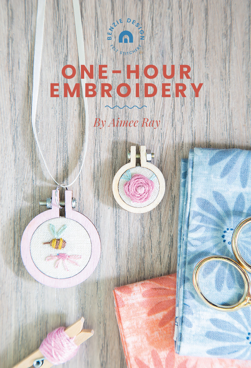 One-hour embroidery with author Aimee Ray