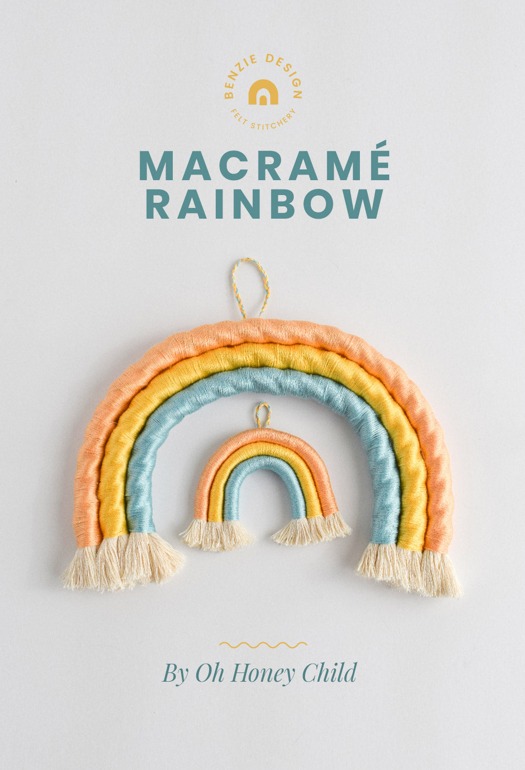 Rainbow Macrame Craft