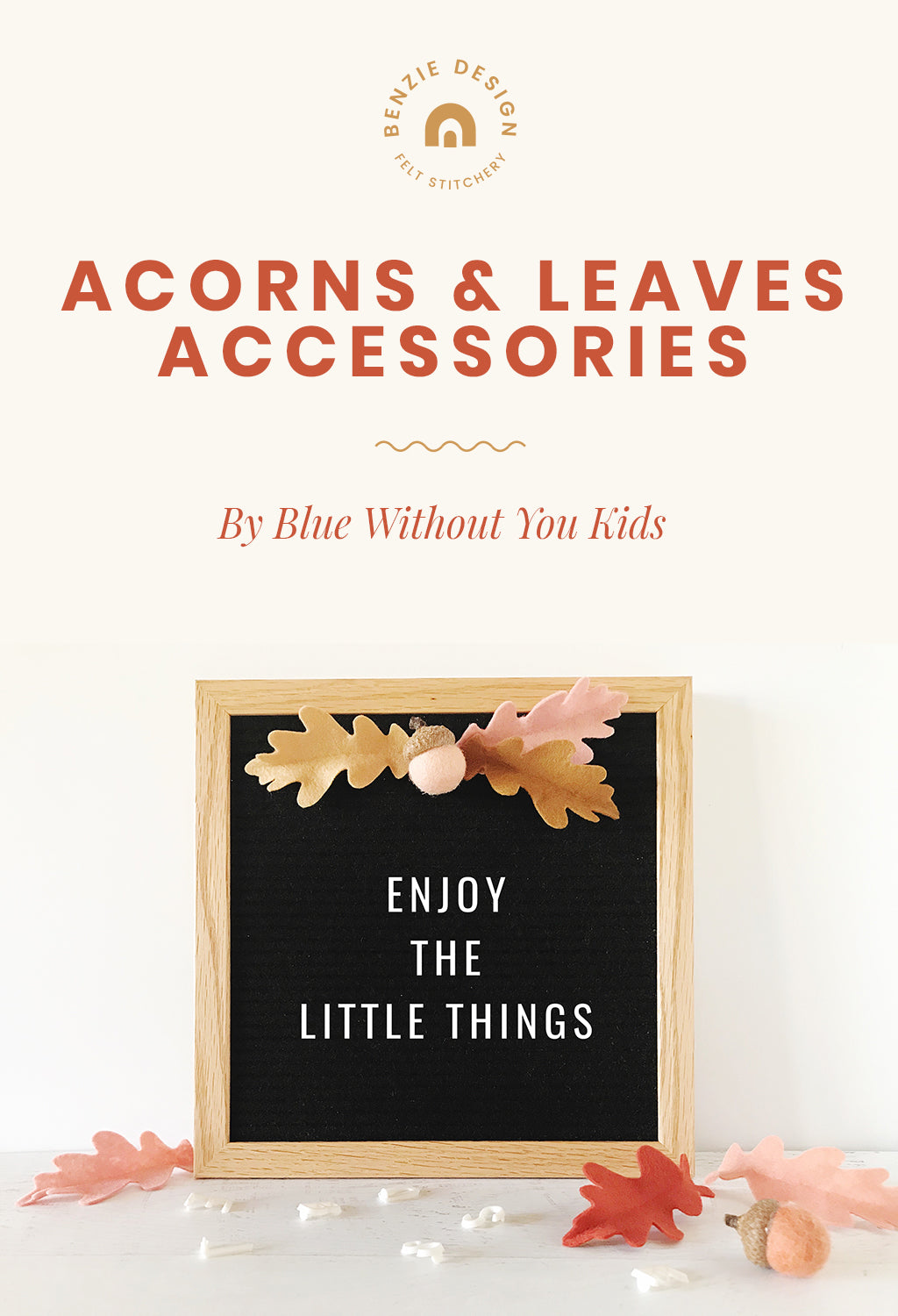 Acorns and Leaves Accessories Tutorial