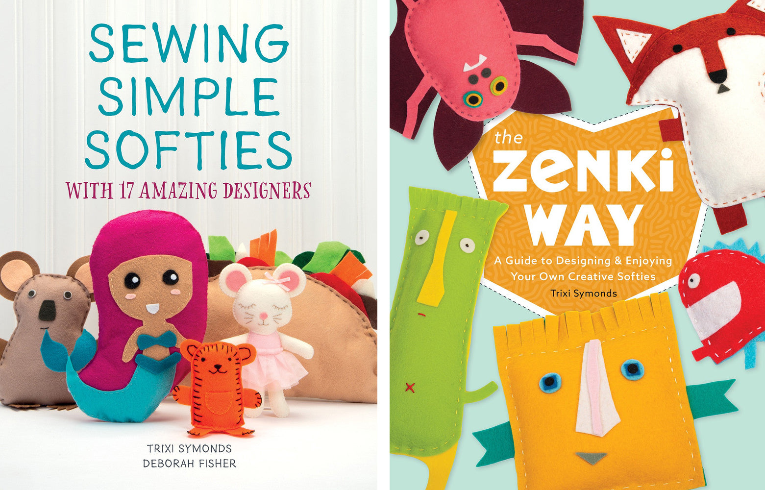 Sewing books for kids by Trixi Symonds