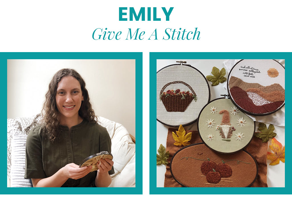 Emily of Give Me A Stitch