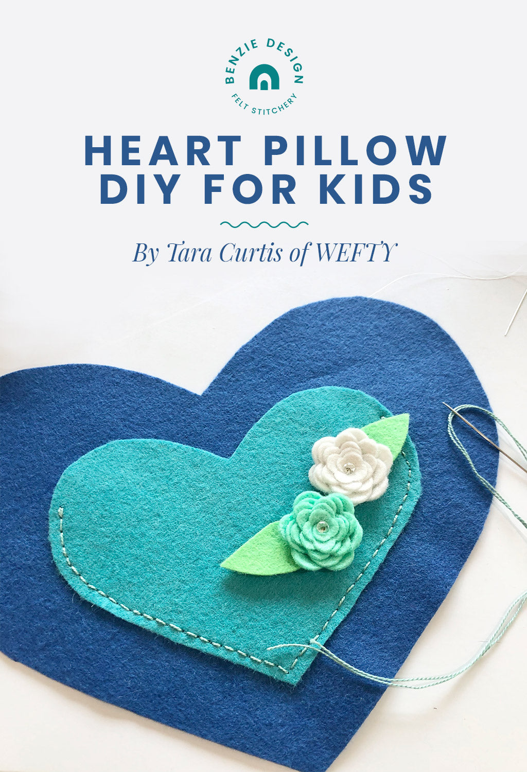 Heart Pillow DIY for Kids