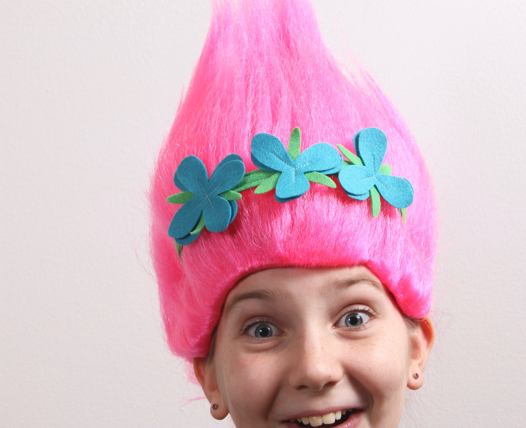Poppy Troll Costume diy