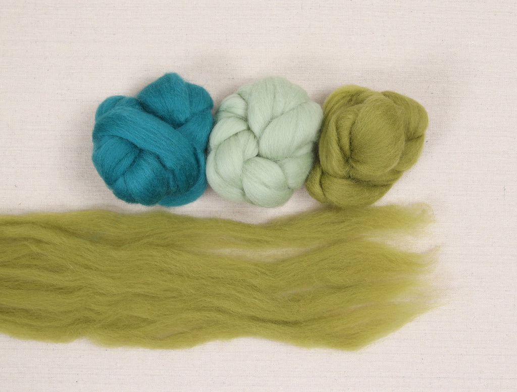 Wool Roving for Needle Felting