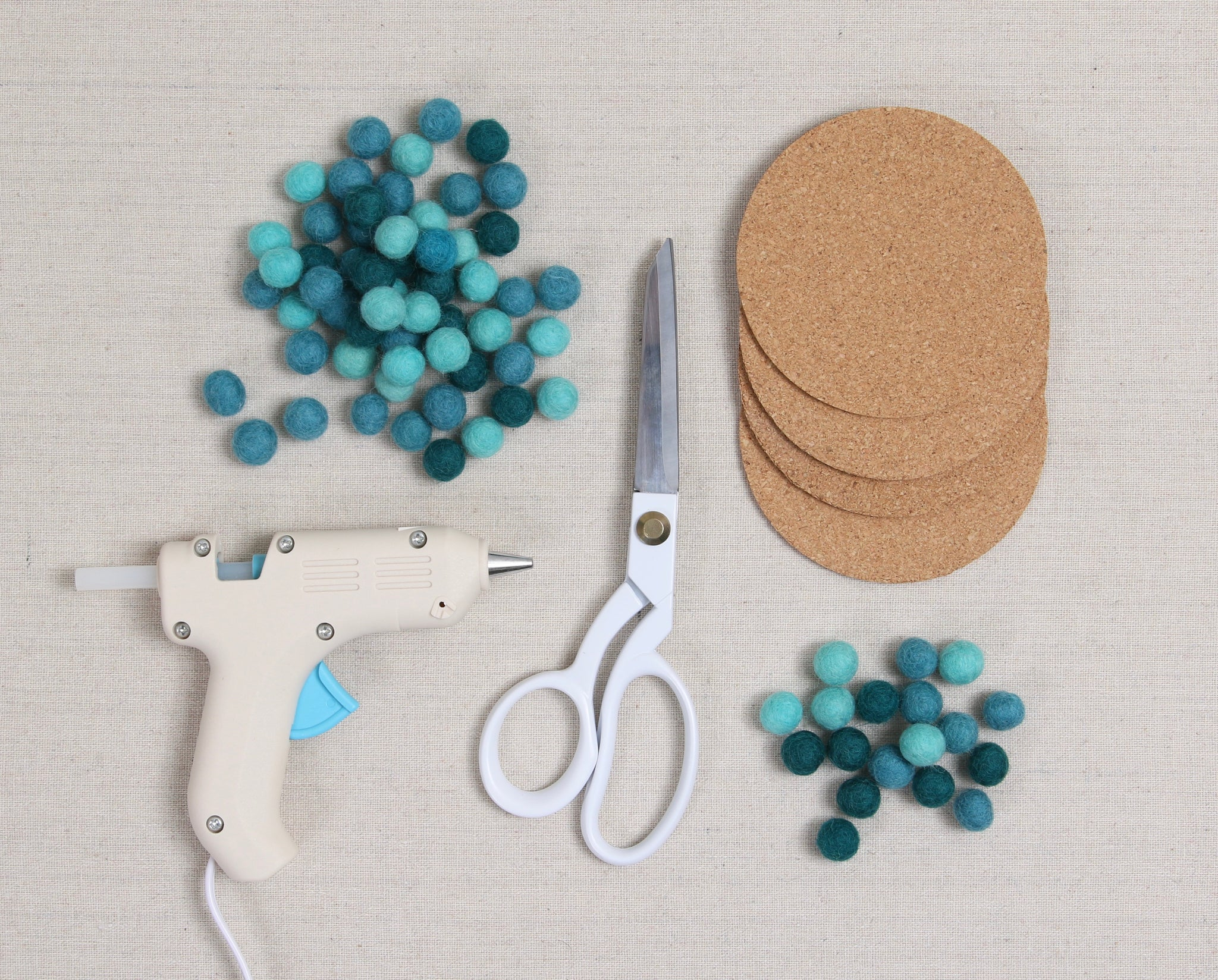 felt ball craft supplies