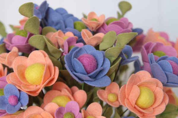 Felt Flower Bouquet by Benzie