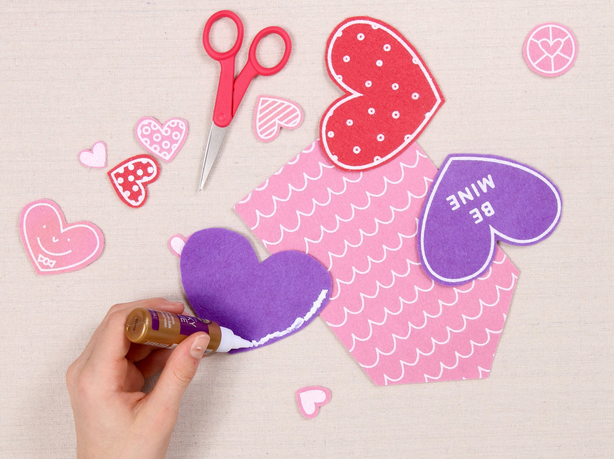 Easy Valentine day craft