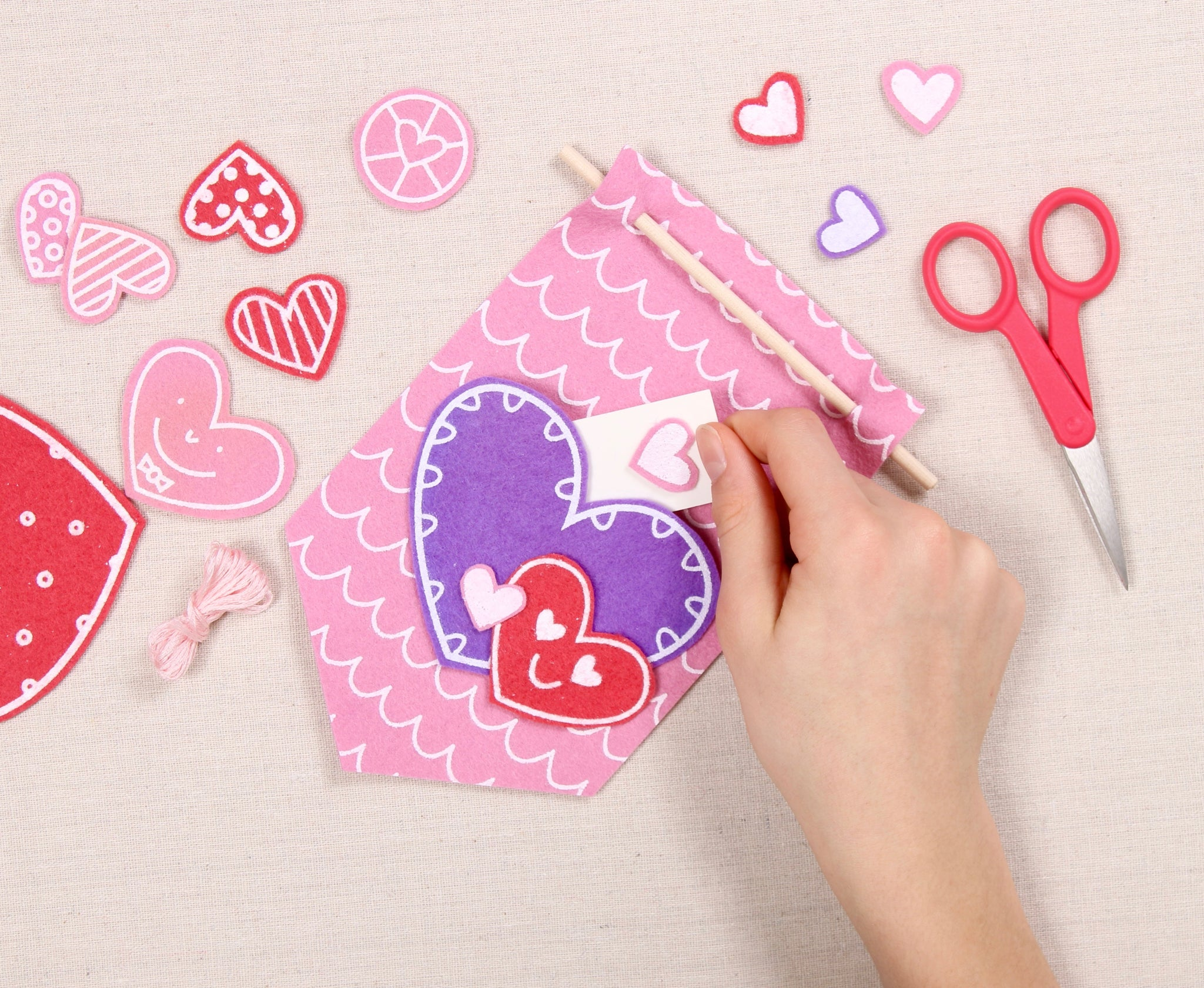 Valentine Note Holder