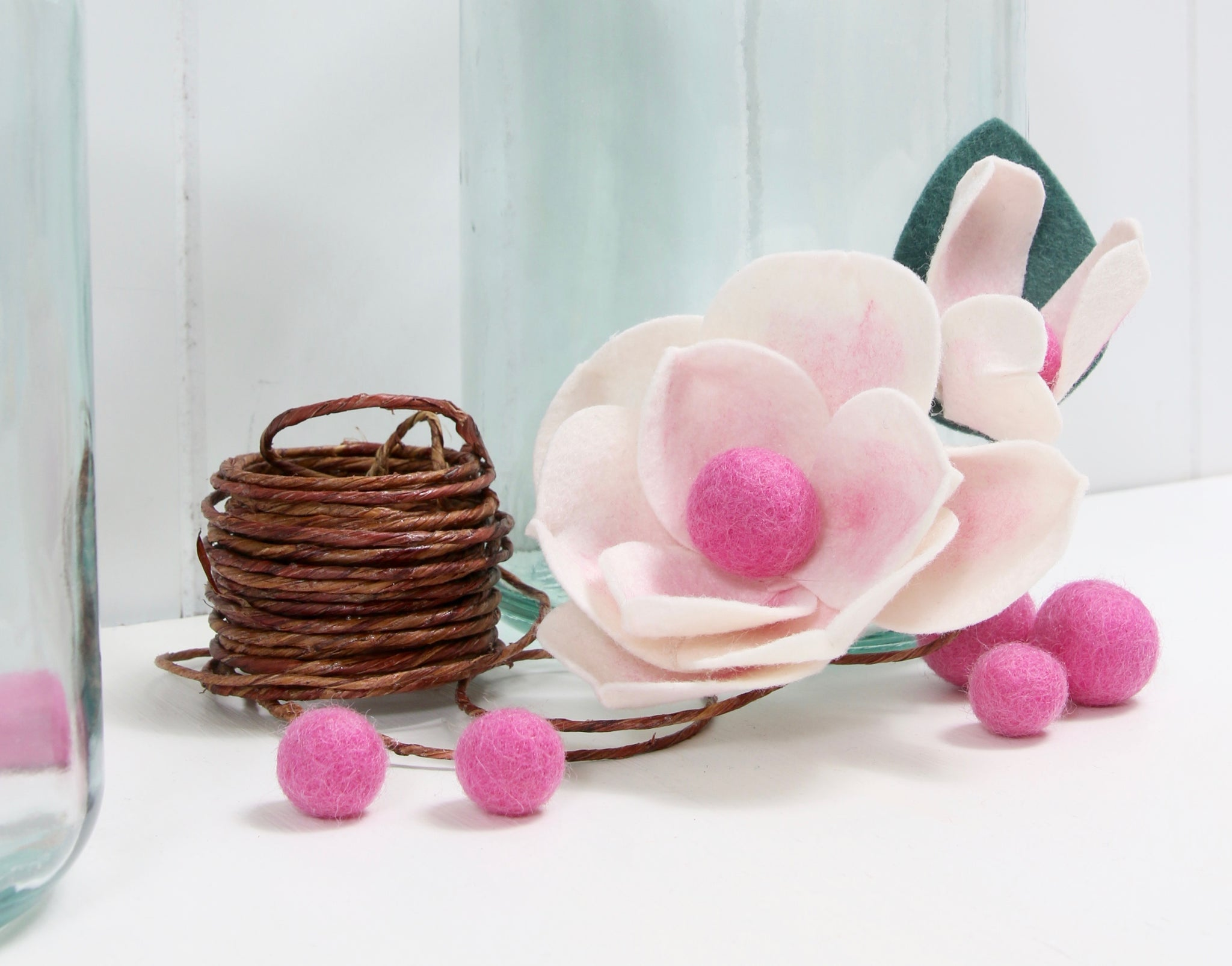 magnolia flower diy