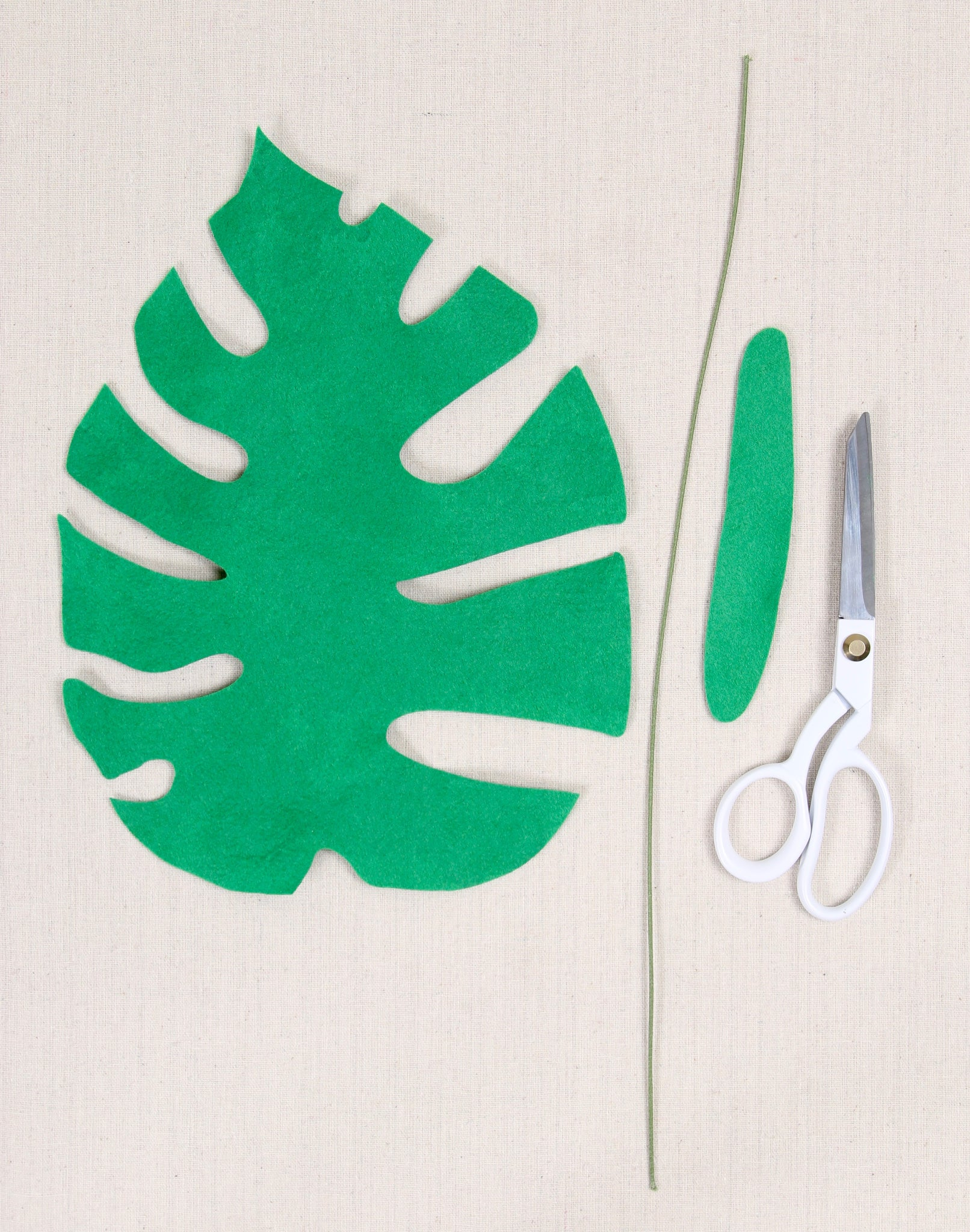 how to make tropical leaves