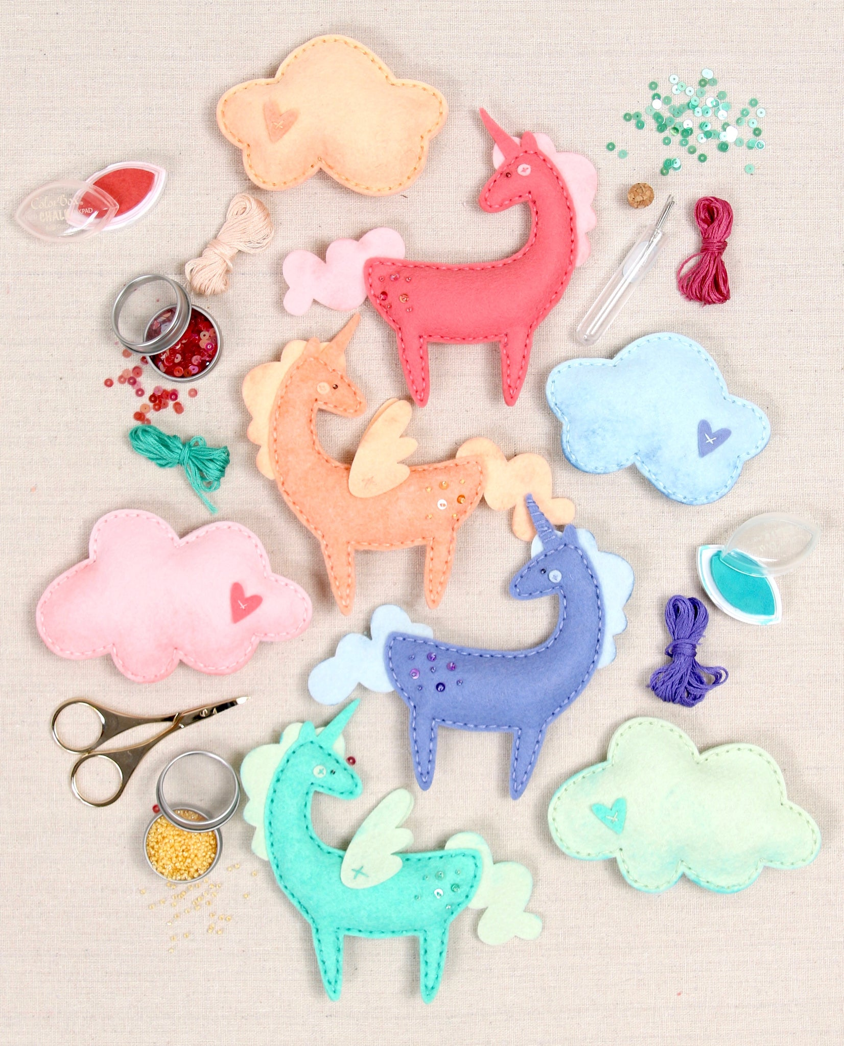 rainbow unicorn crafts