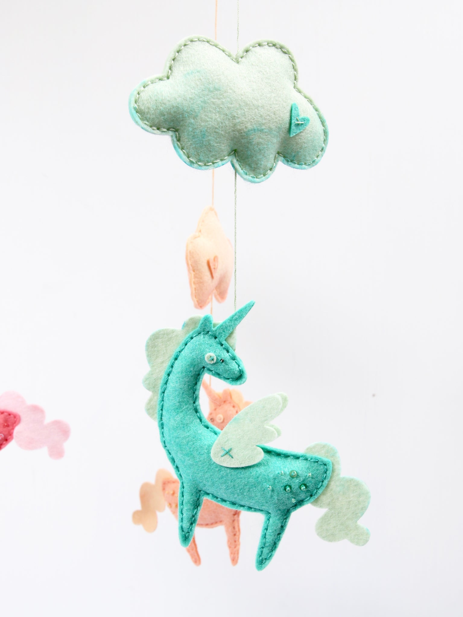 Unicorn and Cloud diy decor