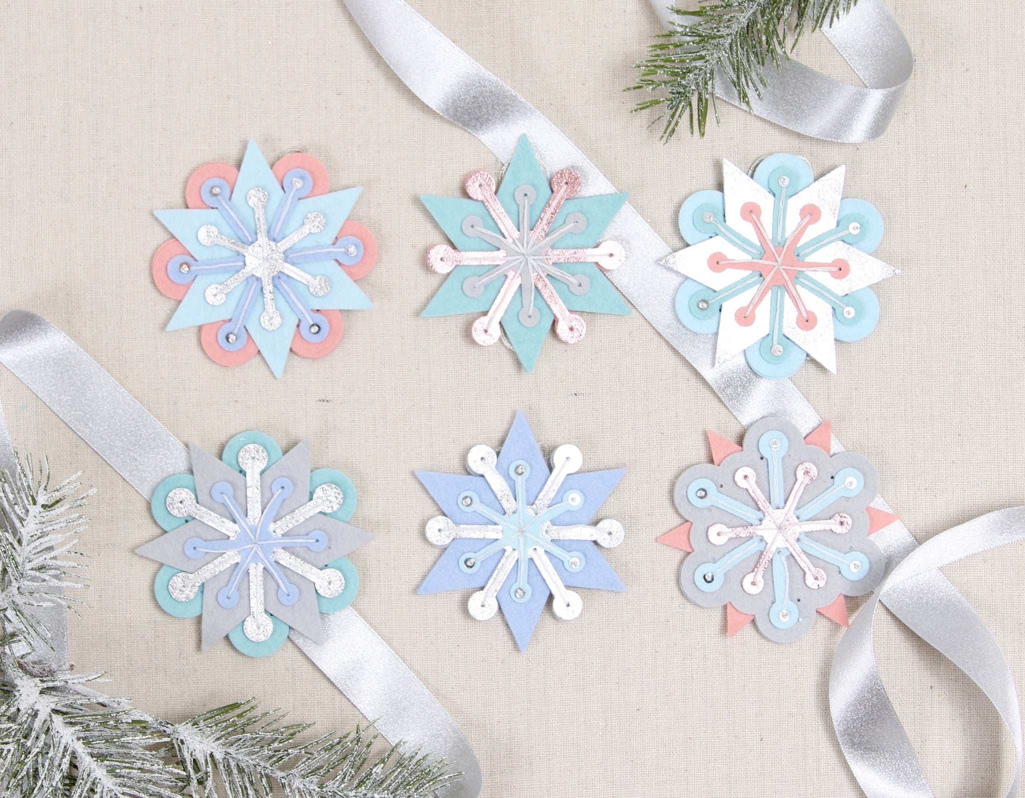snowflake ornaments to make