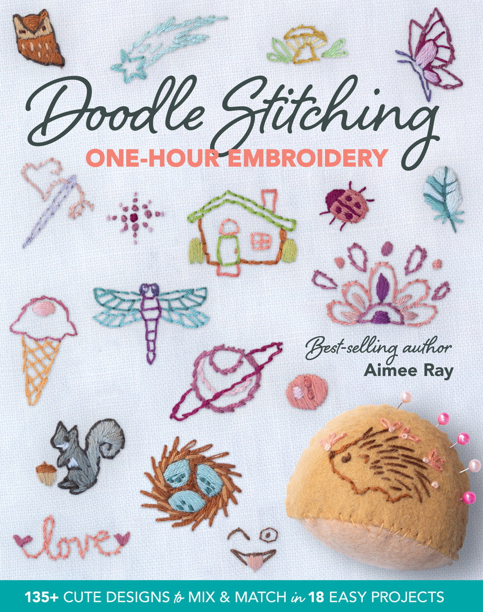 Doodle Stitching: One-Hour Embroidery book