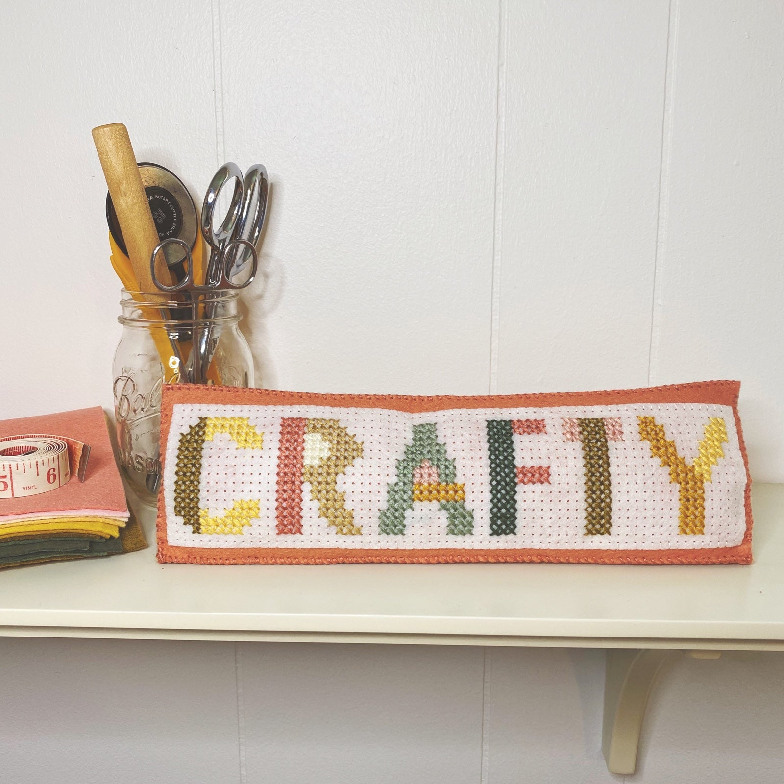 crafty name plate
