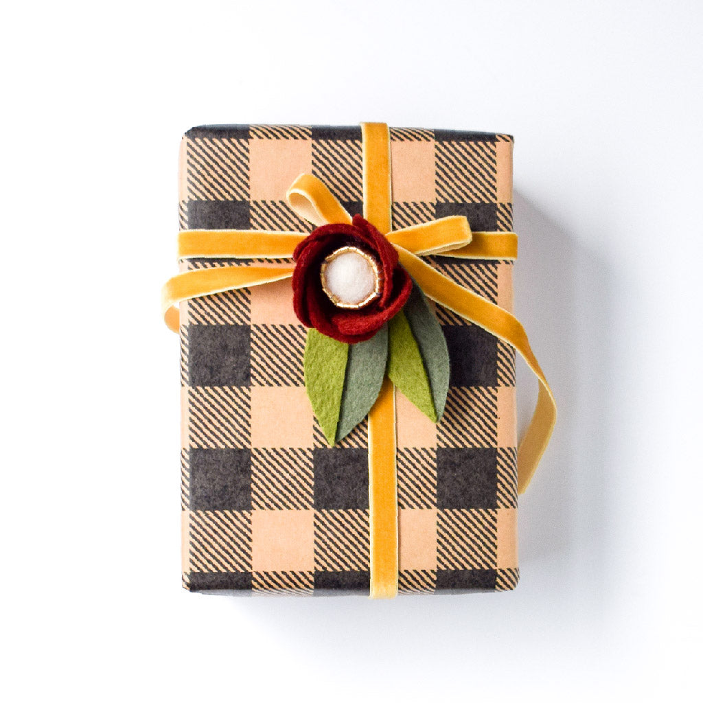 Hair Clip as Wrapping Decoration