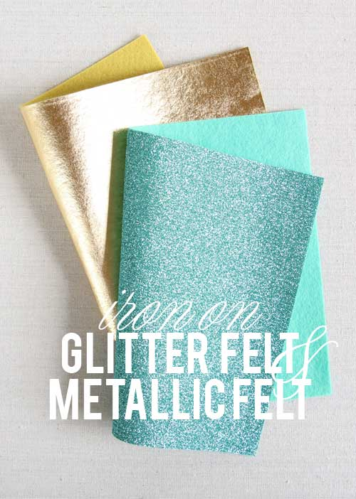 Gitter and Gold Felt