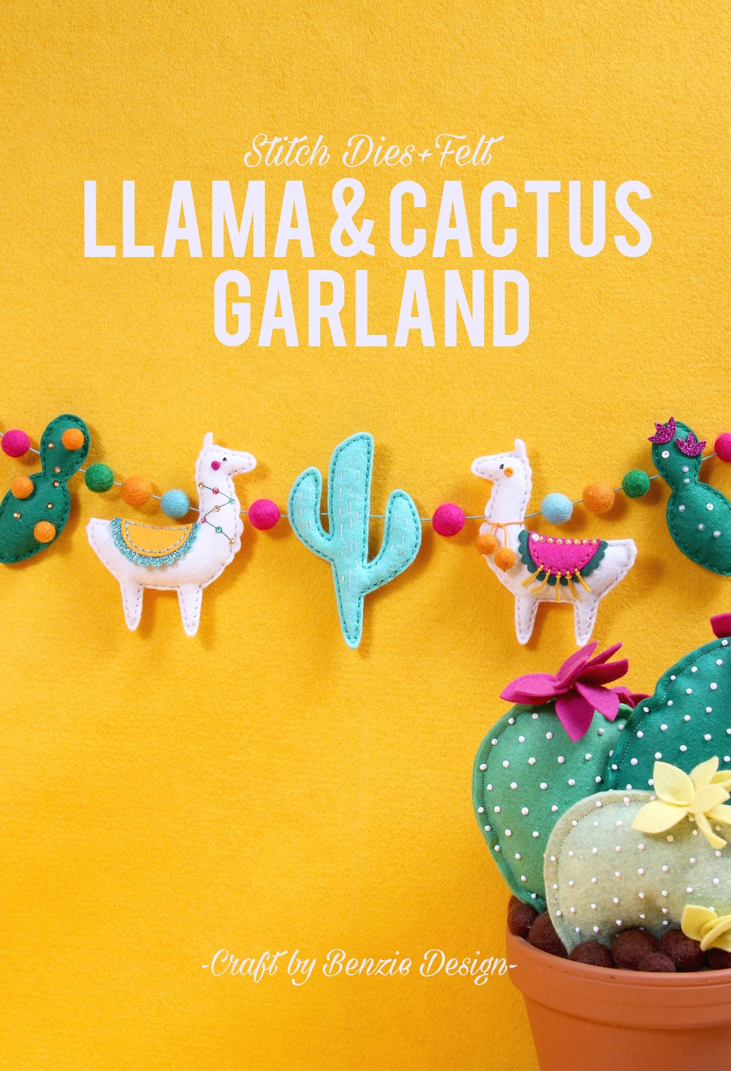 Llama and Cactus Craft