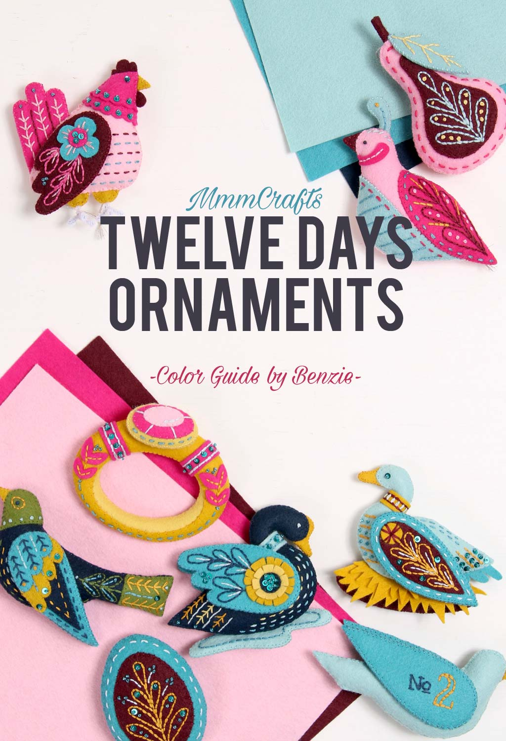 12 days ornaments craft