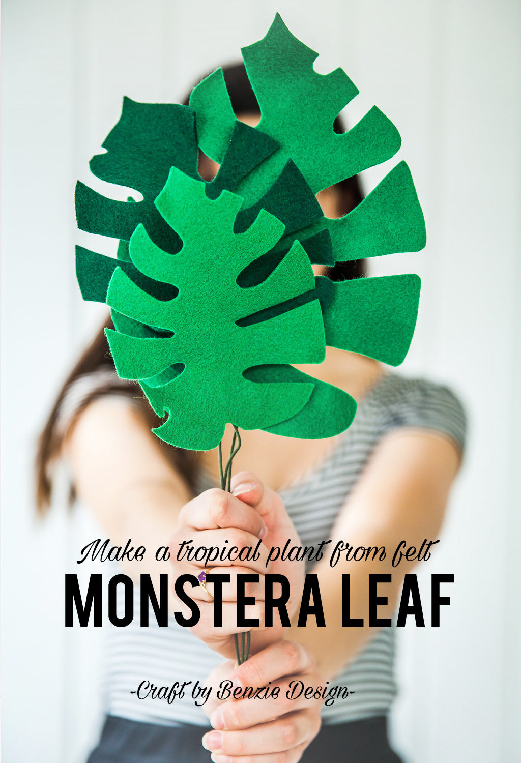 DIY Monstera leaf