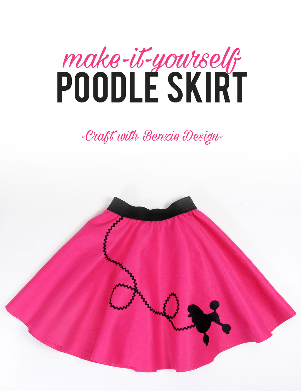 DIY Felt Poodle Skirt