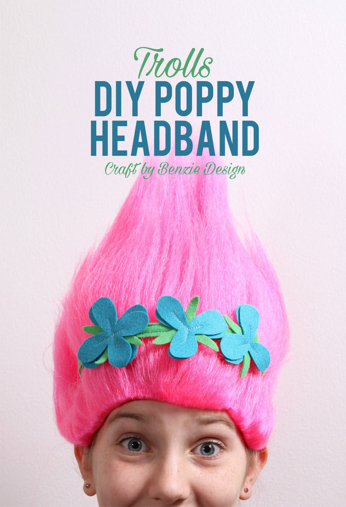 Poppy Headband Tutorial