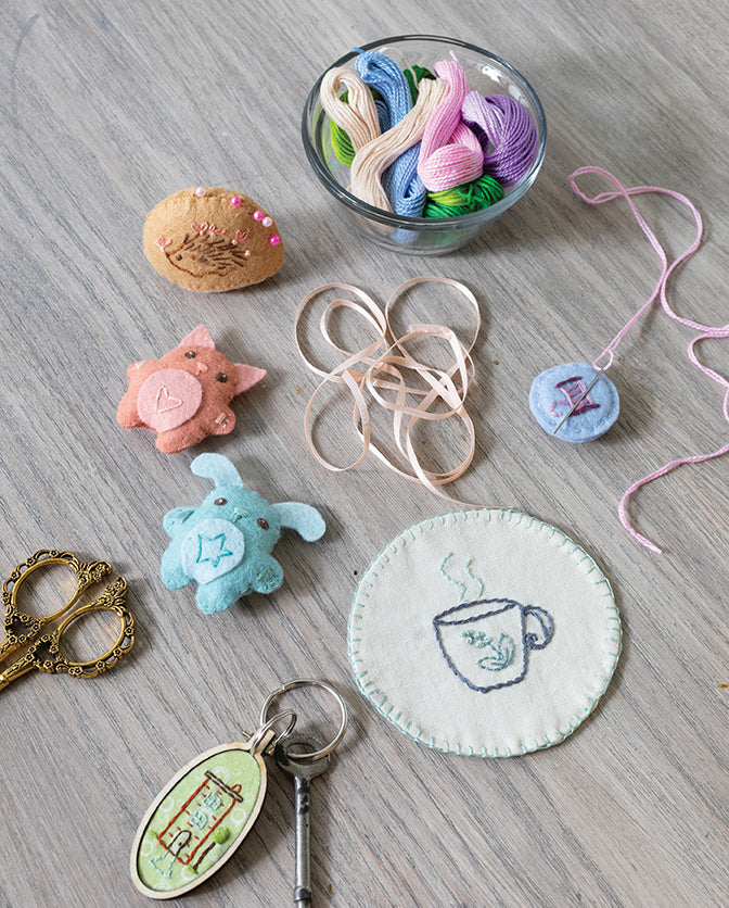 Embroidered projects
