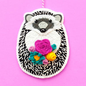 Hedgehog Ornament Kit