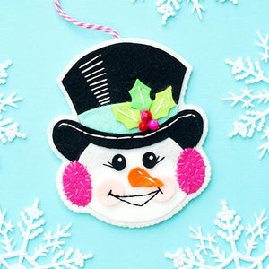 Snowman Ornament Kit