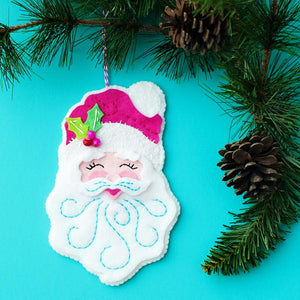Santa Ornament Kit