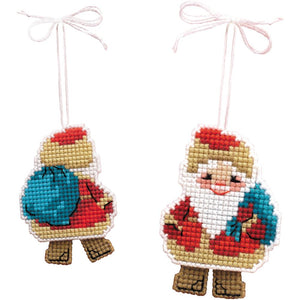 Santa Claus Cross Stitch Kit