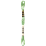 green embroidery floss, DMC 368
