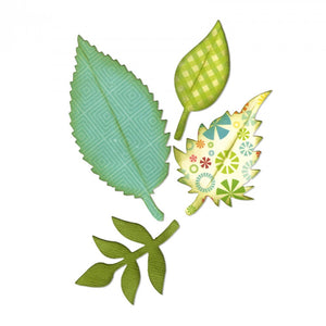 Die Cut, Spring Leaves