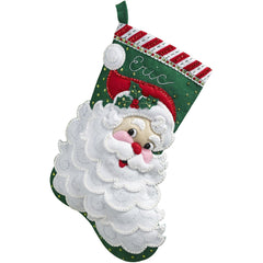 Jolly St. Nick Stocking Kit