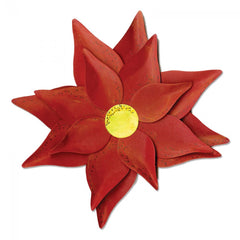 Large Die Cut, Poinsettia