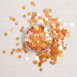 Iridescent Sequins or Beads: Citrine
