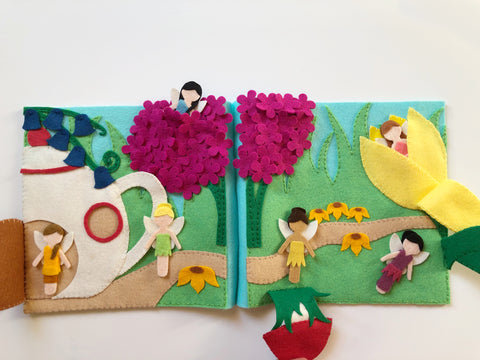 Fairy Garden Quiet Book PDF Pattern