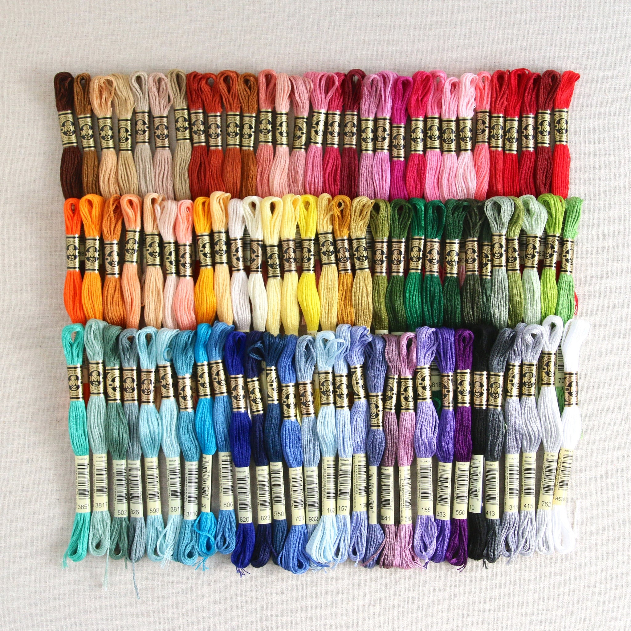 Dmc Embroidery Floss 90 Skein Collection Benzie Design