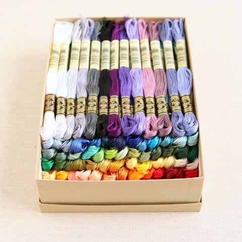 DMC Embroidery Floss, 90 skein collection