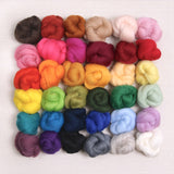 Corriedale wool roving