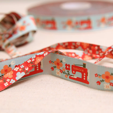 Sewing Machine Woven Ribbon