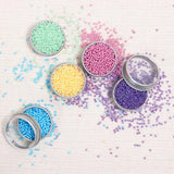 Metallic Sequins or Beads: Marine