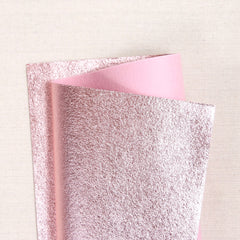 Blush Metallic Felt