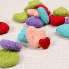 Felt Hearts, Rainbow Bundle